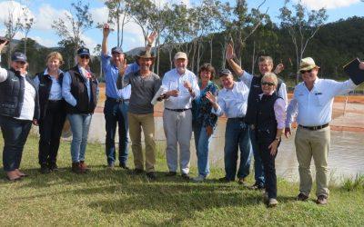 Board of AgriFutures visits AquaVerde