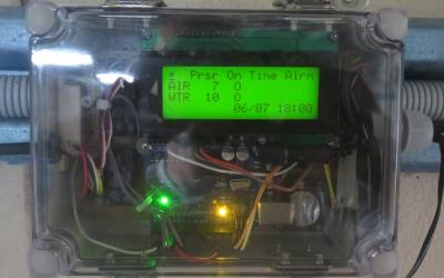 Alarm for spawning tanks installed